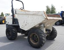 Terex TA 9 1300 MTH ! like NEW , mini dumper , capacity 9,000kg , 4x4