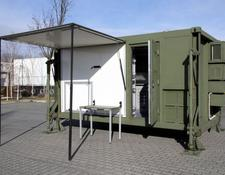 NEW Container house - Air filter - No virus - fresh air