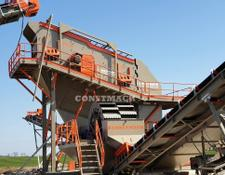 Constmach SCREENING PLANT WITH VIBRATING SCREEN WITH WASHING SYSTEM