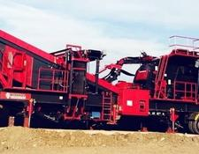Constmach 250 tph CAPACITY MOBILE PRIMARY IMPACT CRUSHER