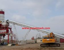 Constmach FIXED CONCRETE BATCHING PLANT SALES 160 m3/h CAPACITY | 2 YEARS