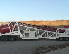 Constmach LOW HEIGHT, ZERO FOUNDATION! MOBILE CONCRETE PLANT 120 m3/h