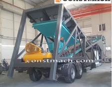 Constmach 60 M3/h Mobile Concrete Plant, Call From Whatsapp Now!